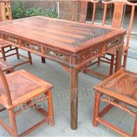 老挝大红酸枝餐桌,交趾黄檀餐桌