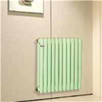 伊莱特钢管扁双柱50-25散热器 暖气片批发