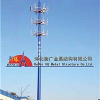 供应单管通信塔