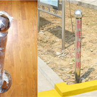 SL-802静电接地触摸球柱不锈钢静电释放器