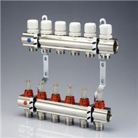 武汉地暖分水器批发|武汉意瓦分集水器