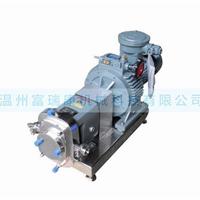 供应富瑞康ZB3A保温型凸轮转子泵,果酱泵
