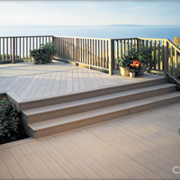 聊城生态木塑木WPC再生木环保木PVC长城板