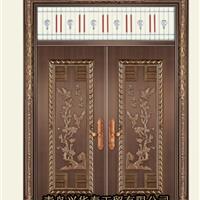 供应青岛兴华泰仿铜门、铜门、不锈钢门