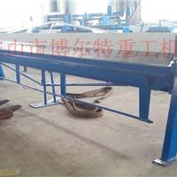 供应薄板专用折弯WS-1*4000手动折边机