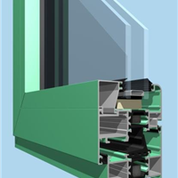 供应隔热断桥铝合金门窗型材