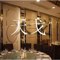 深圳餐厅活动屏风餐厅活动移门宴会厅高隔断