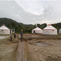 供应豪华的蒙古包厂家好看的夜市蒙古包