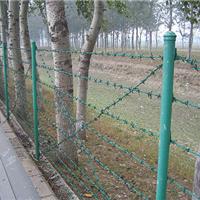 供应刺铁丝防护网、刺绳护栏网、铁蒺藜刺丝