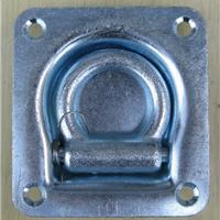 供应加厚车厢卧环集装箱地板钩拉环WD701
