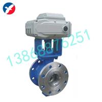 供应VQ970H电动V型调节球阀