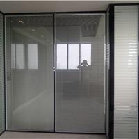 供应上海双层玻璃内夹百叶隔断百叶隔断加工