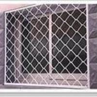 供应钢丝防盗网,钢丝防盗窗网