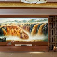 加里艺术彩雕背景墙厂家招商