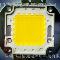 供应100W集成光源白光普瑞芯片工矿灯光源