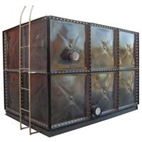 供应怀柔搪瓷钢板水箱