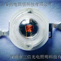 供应1W红光灯珠采用光宏芯片质保三年舞台灯
