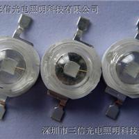供应1W紫光灯珠采用光宏45MIL395-405NM