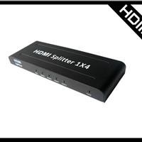 供应hdmi分配器高清1080P一托四 一分四