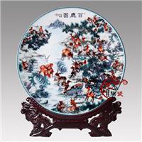 供应陶瓷盘,陶瓷看盘,陶瓷装饰品