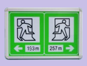 厂家供应隧道电光标志 疏散标志