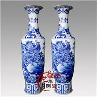 供应青花陶瓷花瓶,开业庆典礼品
