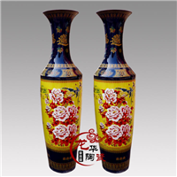 供应陶瓷大花瓶,开业庆典礼品,大堂装饰品