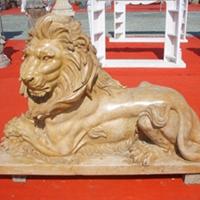 供应石雕狮子痴迷者