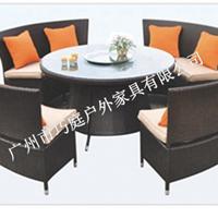 出口正品编藤家具户外桌椅组合桌椅休闲大方