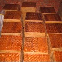竹木复合砖机托板丨空心砖机托板丨塑木托板