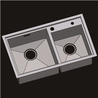供应304不锈钢水槽 不锈钢手工盆 洗菜盆