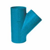 柔性铸铁管件-45度三通厂家直销