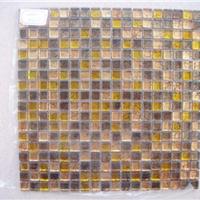 供应天然优质的金箔马赛克家居装饰背景墙