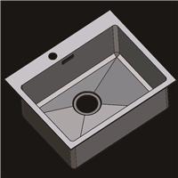 304不锈钢水槽 洗菜盆 不锈钢手工盆R5545