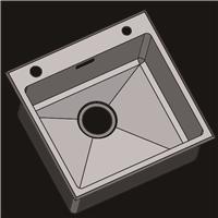 304不锈钢水槽 洗菜盆 不锈钢手工盆R4836