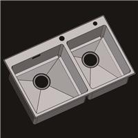 304不锈钢水槽 洗菜盆 不锈钢手工盆R7848