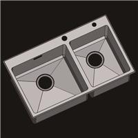 供应执信不锈钢水槽 洗菜盆 不锈钢手工盆