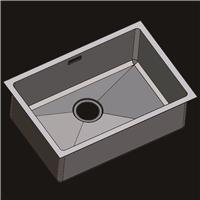 304不锈钢水槽 洗菜盆 不锈钢手工盆R6343