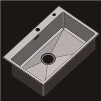 304不锈钢水槽 洗菜盆 不锈钢手工盆R7045