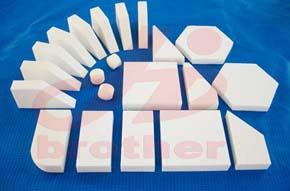 供应氧化铝防弹陶瓷   专业生产品质保证
