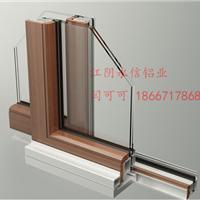 供应台资永信铝木复合门窗型材