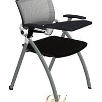 供应vigo网布培训椅带写字板会议椅
