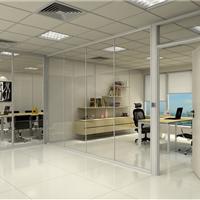 陕西玻璃隔断西安高隔间隔断铝型材生产厂家