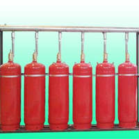 供应有管网七氟丙烷灭火系统