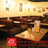 供应贵港餐厅卡座沙发直销贵港茶餐厅家具