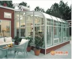 上海金山钢结构阳光房制作过程
