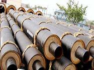 供应钢套钢保温钢管直埋保温管