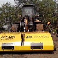 港口专用清扫器/装载机清扫器 使用装载机