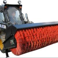 供应凯斯 山猫斜角清扫器 配滑移装载机
