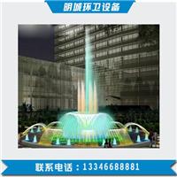 圆形、彩色、漂浮 广场喷泉设计安装-明城
